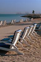 Strand des Jebel Ali Golf Resort + Spa, Dubai, Vereinigte arabische Emirate (VAE, UAE)