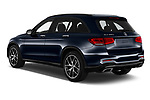 Car pictures of rear three quarter view of 2020 Mercedes Benz GLC AMG-Line 5 Door SUV Angular Rear