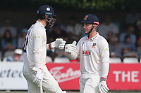 Simon Harmer (R) and Paul Walter enjoy a useful partnership for Essex during Essex CCC vs Gloucestershire CCC, LV Insurance County Championship Division 2 Cricket at The Cloudfm County Ground on 6th September 2021