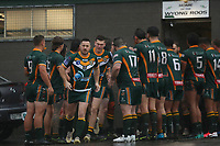 The Wyong Roos play West Rosellas in Round 2 of the First Grade Newcastle Rugby League Competition at Morry Breen Oval on 26th of July, 2020 in Kanwal, NSW Australia. (Photo by Paul Barkley/LookPro)