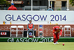 Photographer Ian Cook/Sportingwales<br /> <br /> 20th Commonwealth Games - Lawn Bowls -  Day 4 - Sunday 27th July 2014 - Glasgow - UK