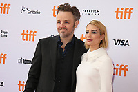 DIRECTOR MATTHEW NEWTON AND EMMA ROBERTS - RED CARPET OF THE FILM 'WHO WE ARE NOW' - 42ND TORONTO INTERNATIONAL FILM FESTIVAL 2017