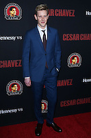 """HOLLYWOOD, LOS ANGELES, CA, USA - MARCH 20: Gabriel Mann at the Los Angeles Premiere Of Pantelion Films And Participant Media's """"Cesar Chavez"""" held at TCL Chinese Theatre on March 20, 2014 in Hollywood, Los Angeles, California, United States. (Photo by David Acosta/Celebrity Monitor)"""