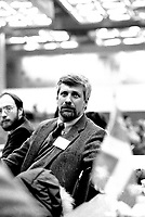 January 18, 1985 - Pierre-Marc Johnson<br /> at the Parti Quebecois (PQ) convention held at Montreal Palais des Congres (convention centre)