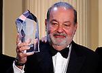 Billionaire Carlos Slim Helú's global leadership award