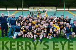 Dr. Crokes celebrate after winning the Kerry County Intermediate Hurling Championship Final match between Dr Crokes and Tralee Parnell's at Austin Stack Park in Tralee