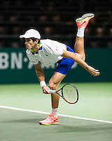 ABN AMRO World Tennis Tournament, Rotterdam, The Netherlands, 17 Februari, 2017, Pierre-Hugues Herbert (FRA)<br /> Photo: Henk Koster