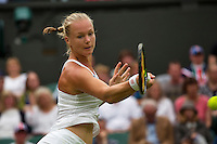 London, England, 2 July, 2016, Tennis, Wimbledon, Kiki Bertens (NED) <br /> Photo: Henk Koster/tennisimages.com