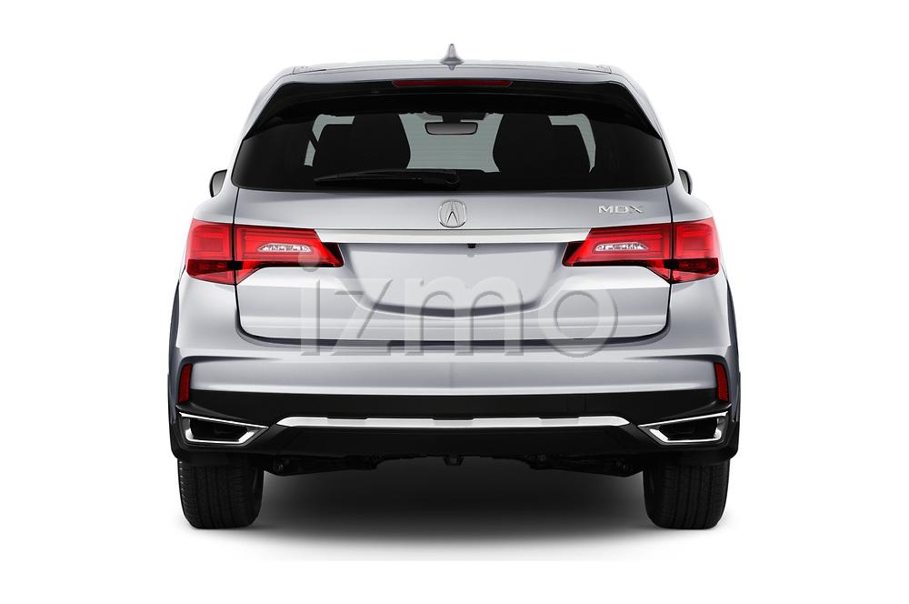 Straight rear view of 2020 Acura mdx Base 5 Door SUV