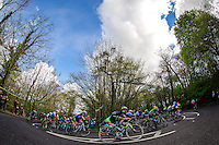 Picture by Alex Whitehead/SWpix.com - 30/04/2016 - Cycling - 2016 Asda Women's Tour de Yorkshire: Otley to Doncaster - Yorkshire, England - peloton in action near Sprotbrough.