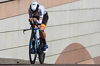 9th September 2021; Trento, Trentino–Alto Adige, Italy: 2021 UEC Road European Cycling Championships, Womens Individual time trials:  Gloria RODRIGUEZ SANCHEZ (ESP)