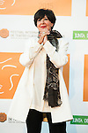 Concha Velasco poses for the photographers during 2015 Theater Ceres Awards photocall at Merida, Spain, August 27, 2015. <br /> (ALTERPHOTOS/BorjaB.Hojas)