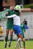 Shannon Boxx, Chioma Igwe...Saint Louis Athletica  tied 1-1 with Boston Breakers at Anheuser-Busch Soccer Park, Fenton, MO.