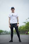 Wings for Life Ambassador and Runner/Writer Gin Ouyang poses for a photograph during the Wings for Life World Run on 08 May, 2016 in Yilan, Taiwan. Photo by Victor Fraile / Power Sport Images