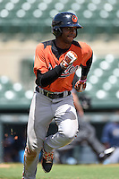 Baltimore Orioles outfielder Joshua Hart (91) during an Instructional League game against the Tampa Bay Rays on September 15, 2014 at Ed Smith Stadium in Sarasota, Florida.  (Mike Janes/Four Seam Images)