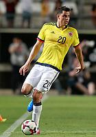Colombia's Gio Moreno during international friendly match. June 7,2017.(ALTERPHOTOS/Acero) (NortePhoto.com) (NortePhoto.com)