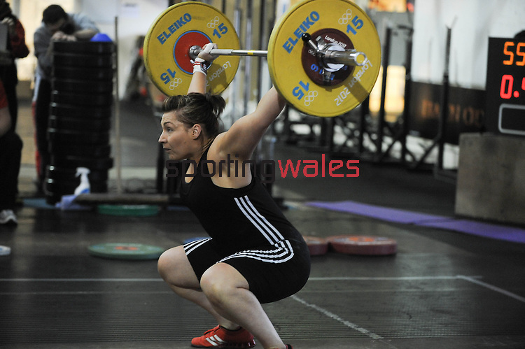 Weightlifting - Celtic Tri-Nation Championships -  Dragon Cross Fit - Saturday 7th December 2013 - Cardiff <br /> <br /> © www.sportingwales.com- PLEASE CREDIT IAN COOK