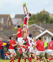 Wednesday 21st August 2019 | Ulster U19 vs Munster U19  <br /> <br /> Matthew Sands during the U19 Inter-Pro between Ulster and Munster at Bangor Grammar School, Bangor, County Down, Northern Ireland.. Photo by John Dickson - DICKSONDIGITAL