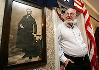 Pella native Ronald Rietveld has devoted his life to being a President Lincoln historian and is a history professor at California State, Fullerton.  His personal collection of historic documents chronicling the life and death of President Lincoln is now on display in Pella's historic Scholte House.