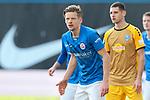 20.02.2021, xtgx, Fussball 3. Liga, FC Hansa Rostock - SV Waldhof Mannheim, v.l. Bentley Baxter Bahn (Hansa Rostock, 8) <br /> <br /> (DFL/DFB REGULATIONS PROHIBIT ANY USE OF PHOTOGRAPHS as IMAGE SEQUENCES and/or QUASI-VIDEO)<br /> <br /> Foto © PIX-Sportfotos *** Foto ist honorarpflichtig! *** Auf Anfrage in hoeherer Qualitaet/Aufloesung. Belegexemplar erbeten. Veroeffentlichung ausschliesslich fuer journalistisch-publizistische Zwecke. For editorial use only.