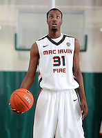 April 8, 2011 - Hampton, VA. USA; Jermaine Morgan participates in the 2011 Elite Youth Basketball League at the Boo Williams Sports Complex. Photo/Andrew Shurtleff