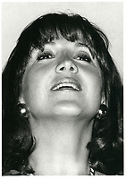Mila   Mulroney en 1985 (date exacte inconnue)<br /> <br /> <br /> PHOTO :  Agence Quebec Presse