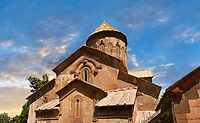 Picture & image of the medieval Sapara Monastery Georgian Orthodox monastery church of St Saba, 13th century, Akhaltsikhe, Georgia.