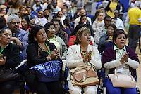 """BOGOTÁ -COLOMBIA. 10-10-2014. Encuentro por la """"Dignidad de las Víctimas del Genocidio contra La UP"""" realizado hoy, 10 de octuber de 2014, en la ciudad de Bogotá./ Meeting for the """"Dignity of Victims of Genocide against The UP"""" took place today, October 10 2014, at Bogota city. Photo: Reiniciar /VizzorImage/ Gabriel Aponte"""