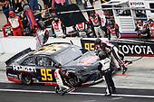 #95: Matt DiBenedetto, Leavine Family Racing, Toyota Camry Horizon Transport