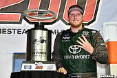 #16: Austin Hill, Hattori Racing Enterprises, Toyota Tundra Chiba Toyopet in victory lane