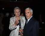 LUISA E FRANCO MARINI<br /> SERATA ORGANIZZATA DAL PROFESSOR VIETTI ALLA CASINA DELL'AURORA ROMA 2007