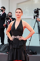 """VENICE, ITALY - SEPTEMBER 10: Fancy Alexandersson walks the red carpet ahead of the movie """"Nuevo Orden"""" (New Order) at the 77th Venice Film Festival on September 10, 2020 in Venice, Italy. <br /> CAP/MPI/AF<br /> ©AF/MPI/Capital Pictures"""
