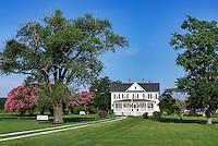 Rural farm house, Cape Charles, Virginia, USA