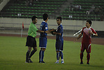 Laos vs Cambodia during their AFF Suzuki Cup 2010 Qualification match at National Sports Complex on 22 October 2010, in Vientiane, Laos. Photo by Stringer / Lagardere Sports