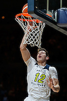 July 14, 2016: DREW EUBANKS (12) of the Oregon State Beavers goes to the basket during game 2 of the Australian Boomers Farewell Series between the Australian Boomers and the American PAC-12 All-Stars at Hisense Arena in Melbourne, Australia. Sydney Low/AsteriskImages.com