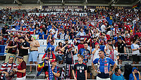 Orlando, FL - Friday Oct. 06, 2017: American Outlaws during a 2018 FIFA World Cup Qualifier between the men's national teams of the United States (USA) and Panama (PAN) at Orlando City Stadium.