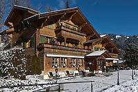 Europe/Suisse/Saanenland/env de Gstaad/Saanen:Eric Baumer chef du Restaurant: Sonnenhof
