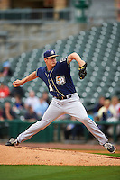 San Antonio Missions pitcher Ryan Butler (30) delivers a pitch during a game against the NW Arkansas Naturals on May 31, 2015 at Arvest Ballpark in Springdale, Arkansas.  NW Arkansas defeated San Antonio 3-1.  (Mike Janes/Four Seam Images)