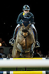 Raena Leung of Hong Kong rides Lalik 2 in action during the Gucci Gold Cup as part of the Longines Hong Kong Masters on 14 February 2015, at the Asia World Expo, outskirts Hong Kong, China. Photo by Johanna Frank / Power Sport Images