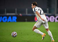 Football Soccer: UEFA Champions League -Group Stage-  Group G - Juventus vs FC Barcellona, Allianz Stadium. Turin, Italy, October 28, 2020.<br /> Juventus' Federico Chiesa in action during the Uefa Champions League football soccer match between Juventus and Barcellona at Allianz Stadium in Turin, October 28, 2020.<br /> UPDATE IMAGES PRESS/Isabella Bonotto