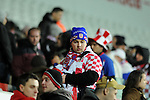 FIFA 2014 World Cup Qualifier - Wales v Croatia - Swansea - 26th March 2013 :  Croatian football fan.