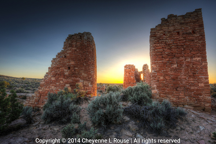 Hovenweep Castle Towers - Utah - Hovenweep National Monument