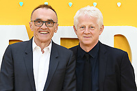 """Danny Boyle and Richard Curtis<br /> arriving for the """"Yesterday"""" UK premiere at the Odeon Luxe, Leicester Square, London<br /> <br /> ©Ash Knotek  D3510  18/06/2019"""