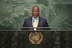 Haiti<br /> H.E. Mr. Jocelerme Privert<br /> Acting Head of State<br /> <br /> <br /> General Assembly Seventy-first session, 17th plenary meeting<br /> General Debate