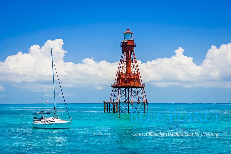 American Shoal lighthouse, Florida Keys