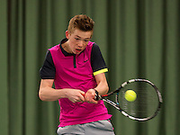 March 15, 2015, Netherlands, Rotterdam, TC Victoria, NOJK, Lars Kuipers (NED)<br /> Photo: Tennisimages/Henk Koster