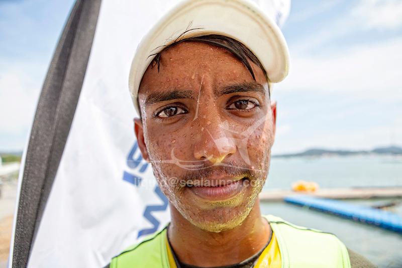 ISAF Emerging Nations Program, Langkawi, Malaysia.<br />Muhammad Azeem from Pakistan.<br />Laser, Sail Number: PAK 5