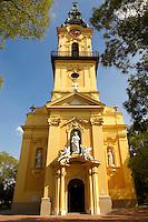 the Baroque Old Church. Kiskunfélegyháza; Bács-Kiskun county, Hungary