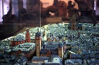 Frankfurt: Frankfurt model, view east to DOM.