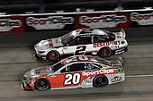 #20: Erik Jones, Joe Gibbs Racing, Toyota Camry Sport Clips, #2: Brad Keselowski, Team Penske, Ford Mustang Discount Tire